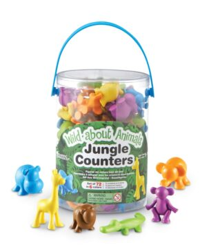 JUNGLE COUNTERS - TUB OF 72
