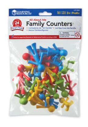 FAMILY COUNTERS - BAG OF 24