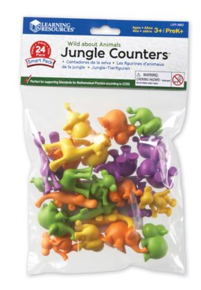 JUNGLE COUNTERS - BAG OF 24