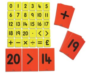 CHILD'S 0-20/FUNCTIONS CARD SET