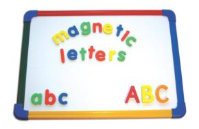 MAGNETIC LETTERS (4 SETS, LOWER CASE)
