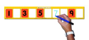 ORDERING NUMBERS CARD TRACK