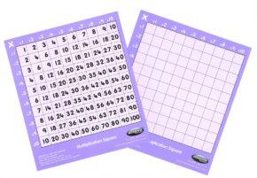 CHILD'S 10x10 MULTIPLICATION SQUARE - MEDIUM