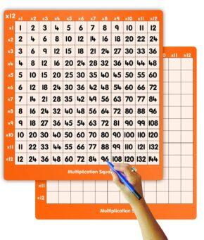 TEACHER'S MULTIPLICATION SQUARE (12 x 12)