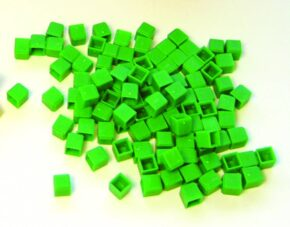 GREEN UNITS (BAG OF 100)