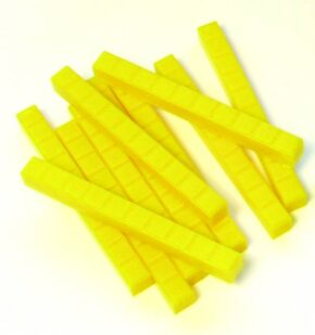 YELLOW RODS (BAG OF 10)