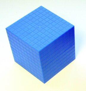 BLUE CUBE (EACH)