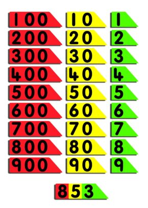 CHILD'S PLACE VALUE ARROWS (HTU)