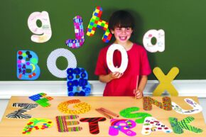 GIANT CARDBOARD LETTER - LOWER CASE