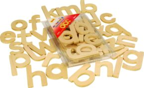 WOODEN LETTERS - LOWER CASE