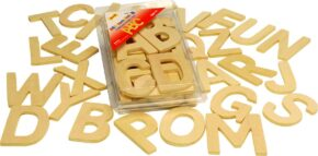 WOODEN LETTERS - UPPER CASE