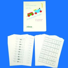 COUNTING TRAIN - ACTIVITY PACK