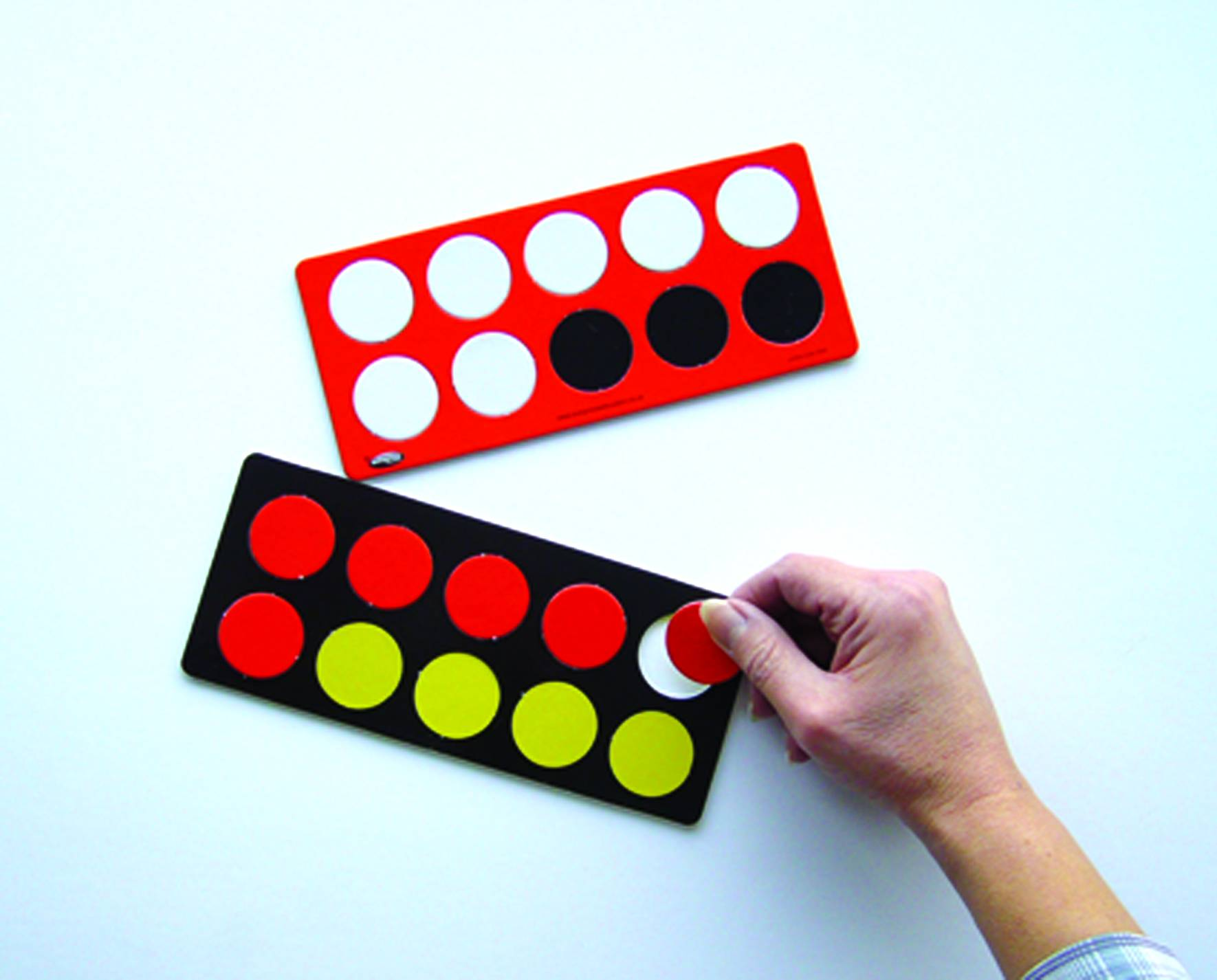 TENS FRAME BOARD & COUNTERS
