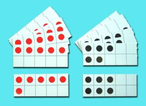 TENS FRAMES - FIVE WISE & PAIRS WISE (SET OF 20)
