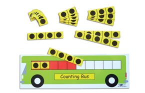 COUNTING BUS - SINGLE DECKER (SET OF 6)