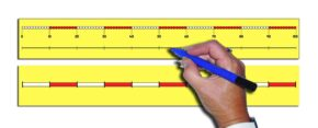 CHILD'S 0-100 NUMBER LINE (43CM)