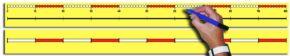 CHILD'S 0-100 NUMBER LINE (70CM)