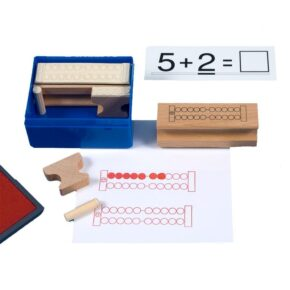COUNTING FRAME STAMP SET