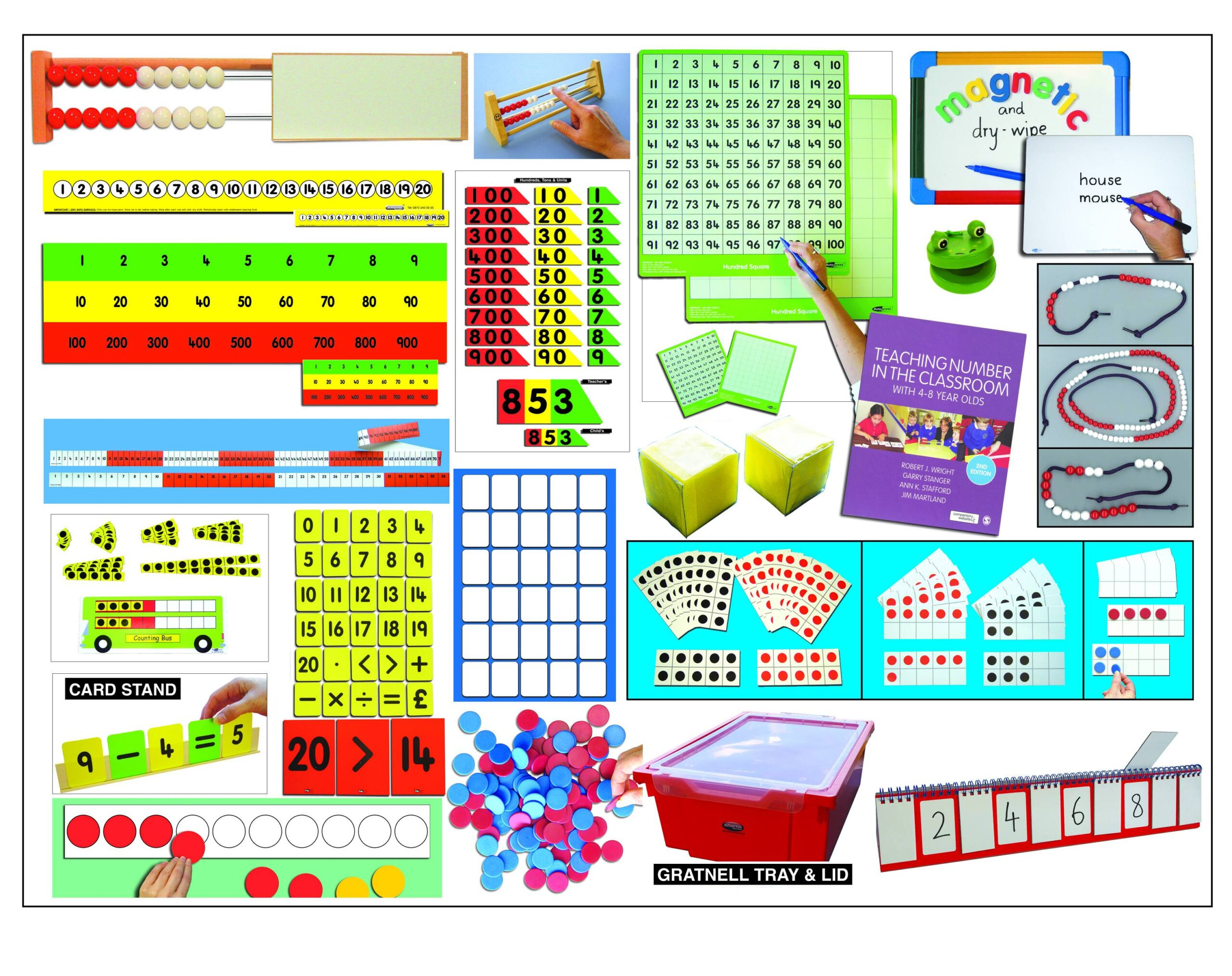 MATHS RECOVERY - ONE TO ONE KIT