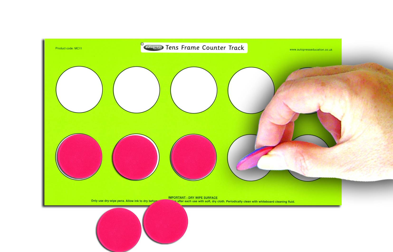 TENS FRAME COUNTER TRACK