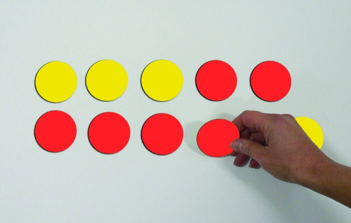 MAGNETIC DOUBLE-SIDED COUNTERS