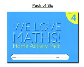 HOMEWORK ACTIVITY DIARY - YEAR 4 (PACK OF 6)
