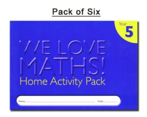 HOMEWORK ACTIVITY DIARY - YEAR 5 (PACK OF 6)