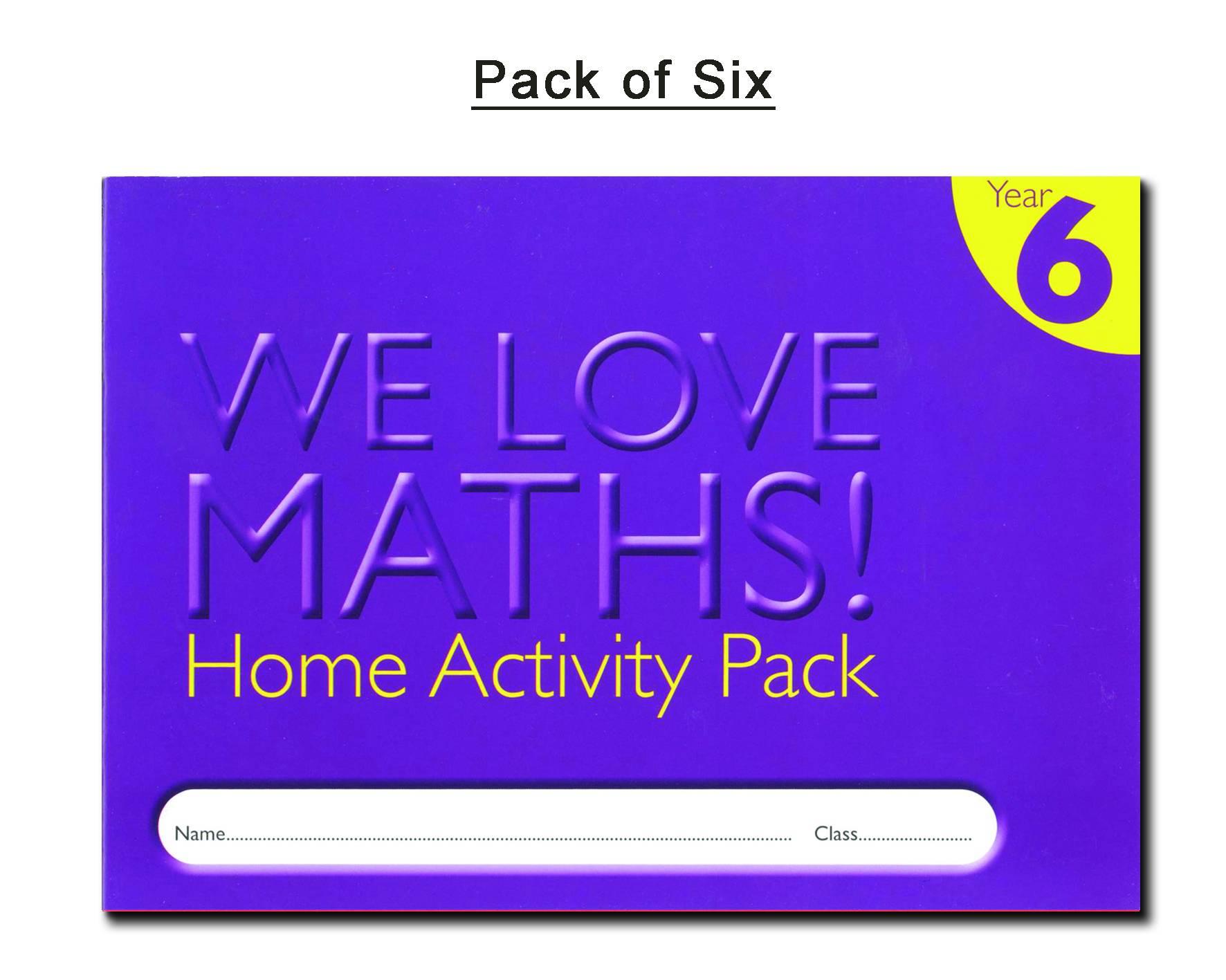 HOMEWORK ACTIVITY DIARY - YEAR 6 (PACK OF 6)