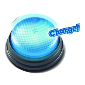 "LIGHTS & SOUNDS ANSWERS BUZZER - ""CHARGE!"""